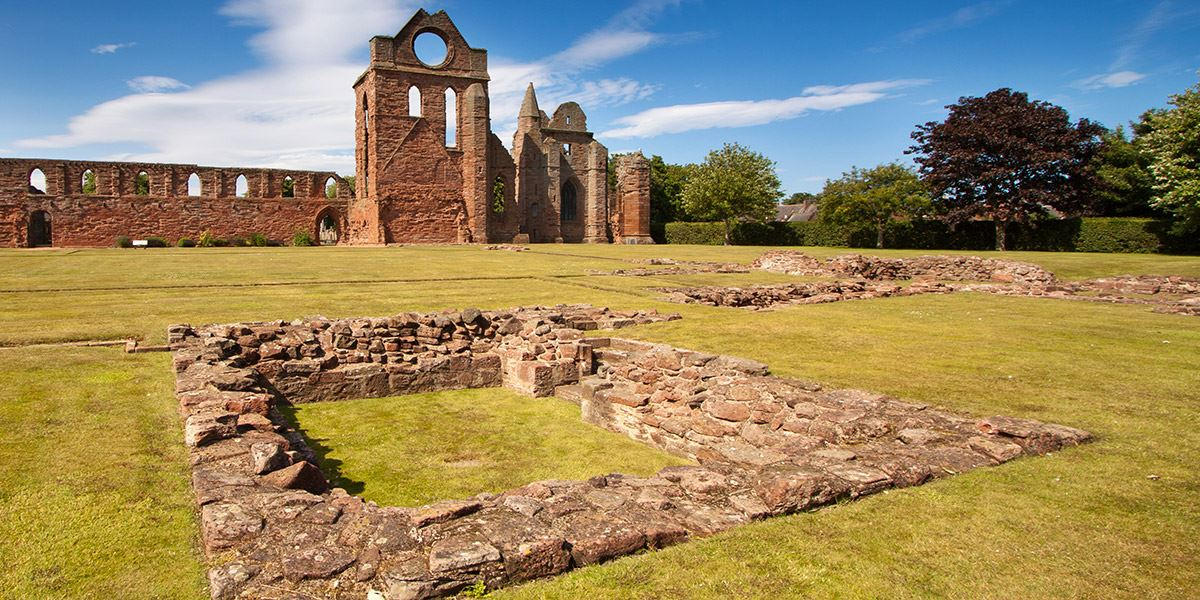 Arbroath Abbey Top 10 reasons to visit Dundee, Angus and Perthshire