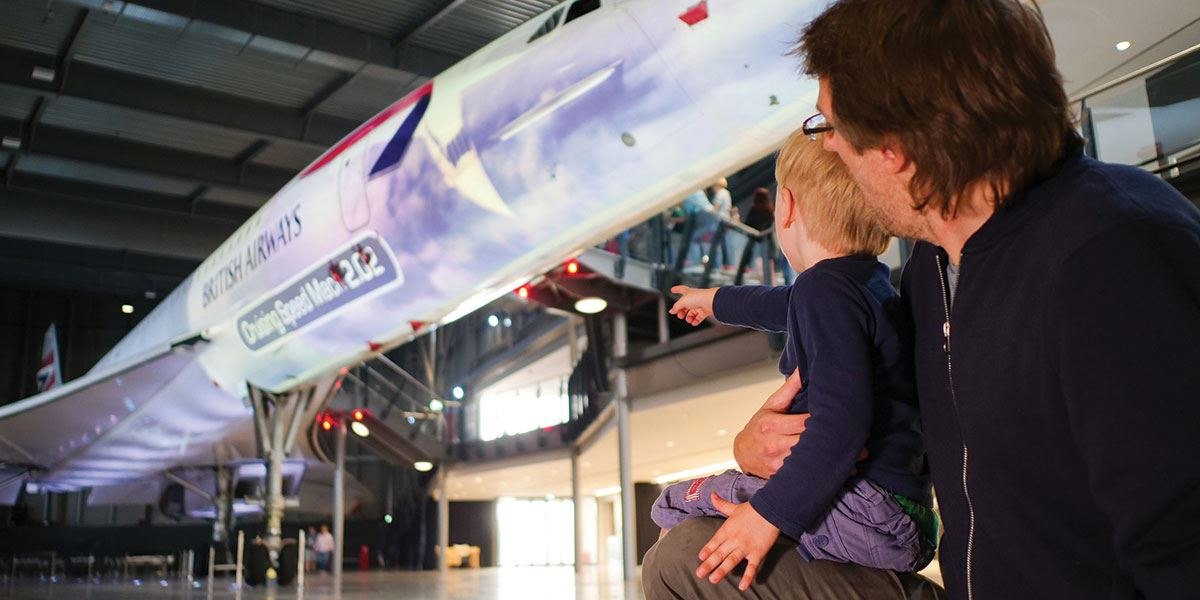 Enjoy a family day out at Aerospace Bristol