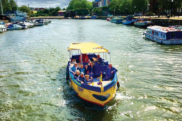 See the sights of Bristol with Bristol Ferry Boats