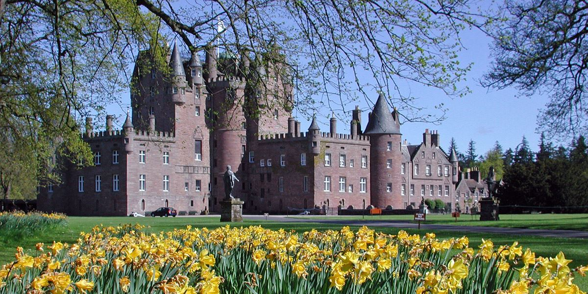 Glamis Castle 72 hours in Dundee, Angus and Perthshire