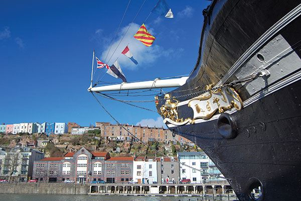 Brunel's SS Great Britain is one of the most important historic ships in the world