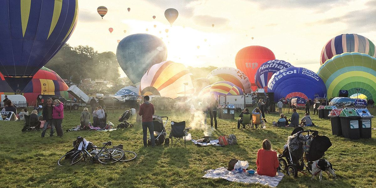 Time you visit right and you could see the wonderful Bristol Ballon Fiesta