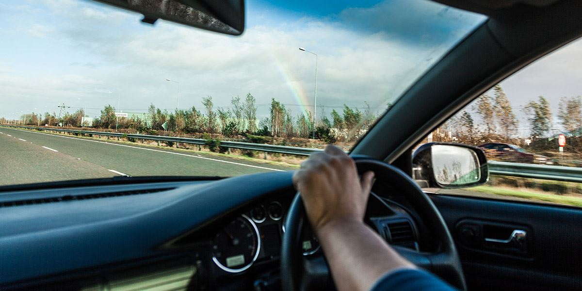 Driving car Cardiff and the Vale of Glamorgan travel