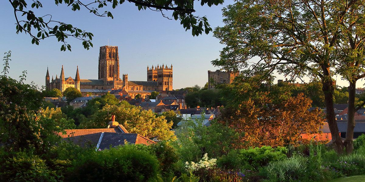 Visit the beautiful Durham Cathedral