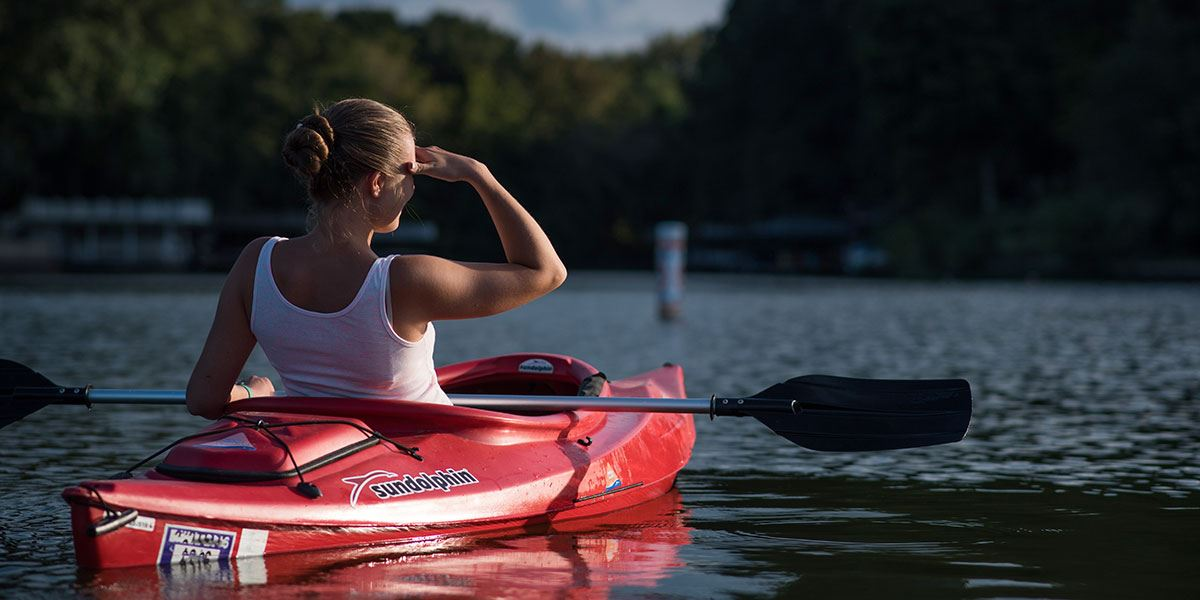You will find plenty of opportunities to try your hand at watersports here