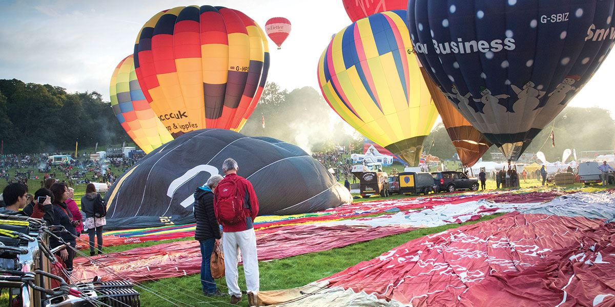 The city is famous for is hot air ballooning, if you time your visit well you could even visit the wonderful Bristol Balloon Fiesta