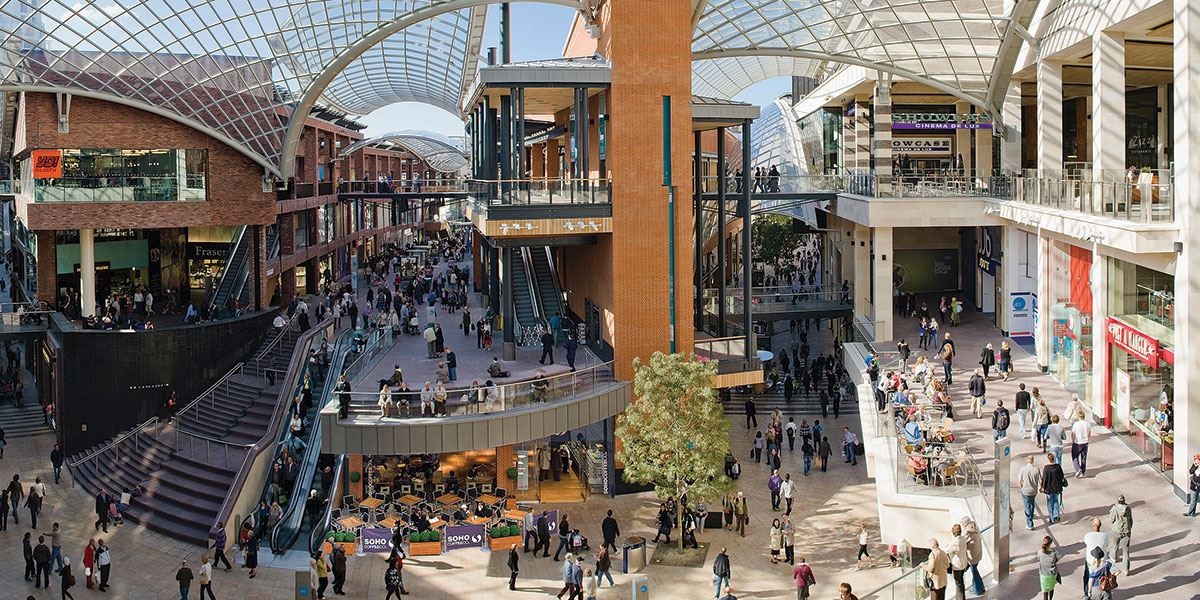 Shopaholics can engage in a bit of retail therapy at Cabot Circus