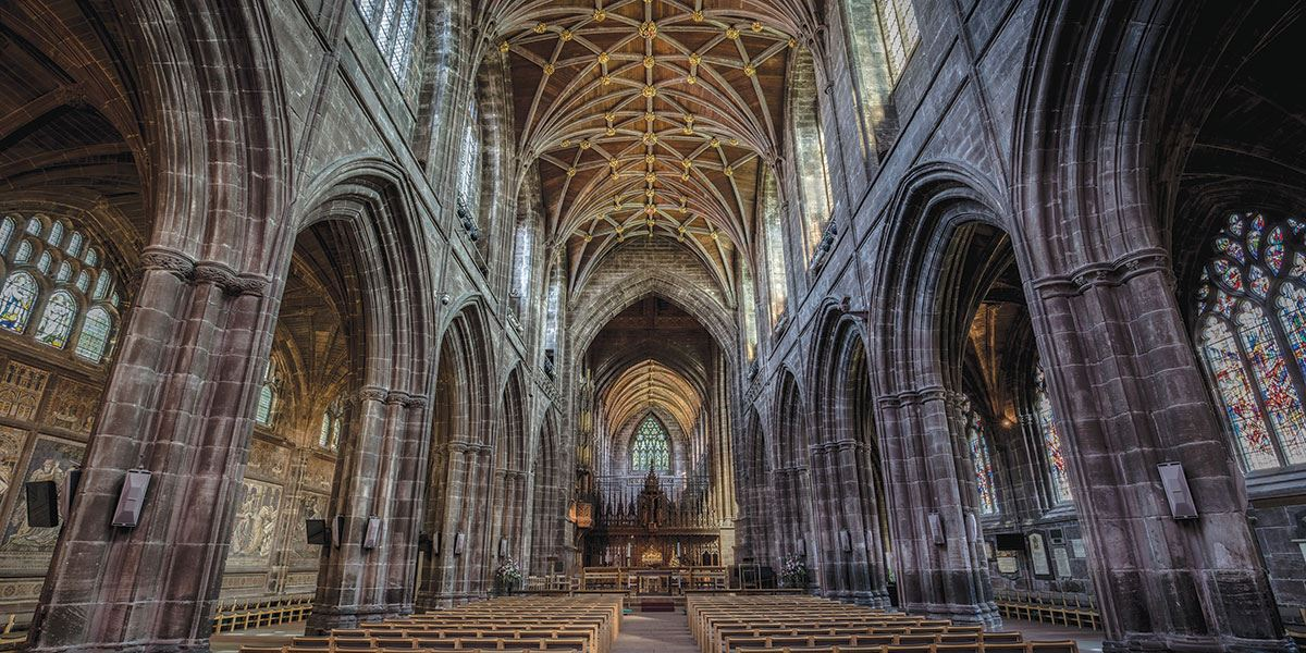 Chester Cathedral is one of the city's the must-see attractions