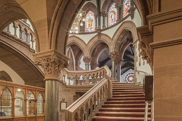 Take in the wonderful architecture of Chester Town Hall