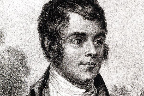 Legendary, celebrated poet Robert Burns