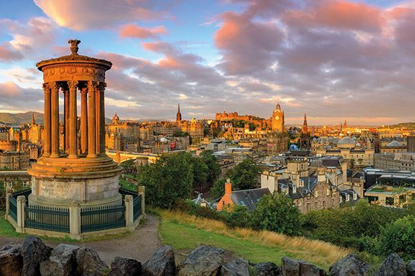 It's easy to see why Edinburgh is such an inspirational place