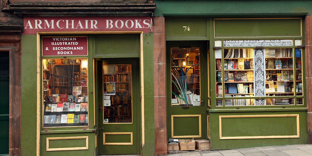 Armchair Books in Edinburgh's West Port