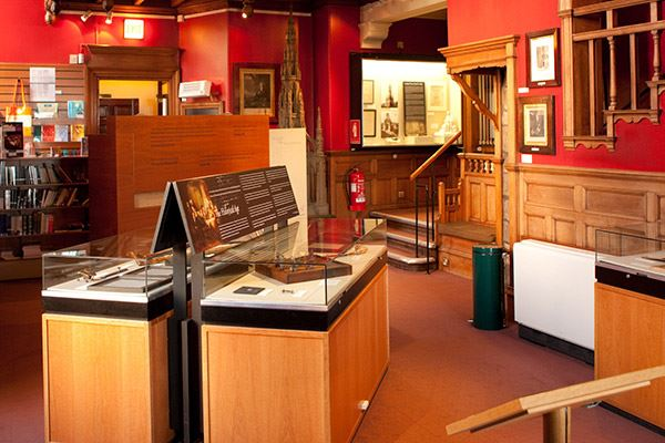 The Writers' Museum showcases three of the country's finest writers