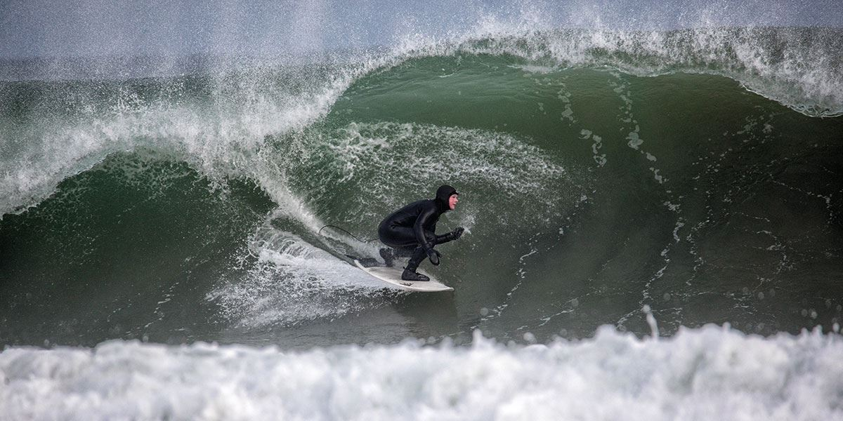 Try your hand at surfing while you're in the region