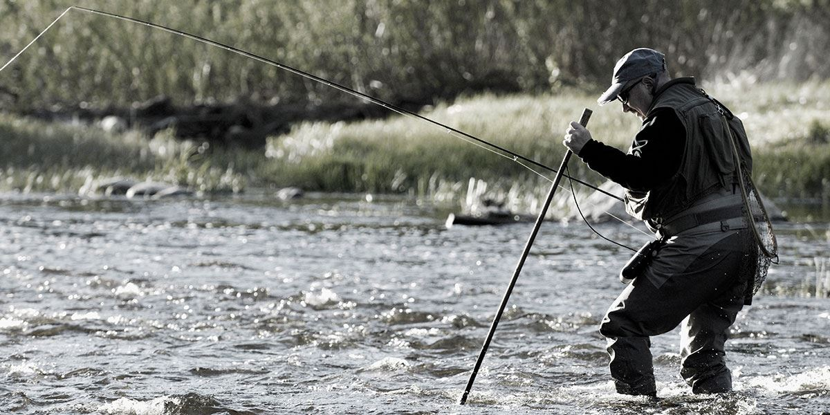If you're into fishing, there's lots of fantastic places to spend the afternoon doing what you love here