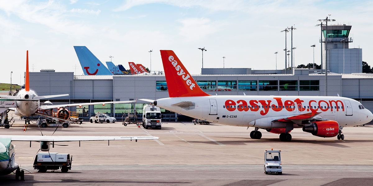Direct flights operate to Bristol International Airport from across the UK, Europe and North America