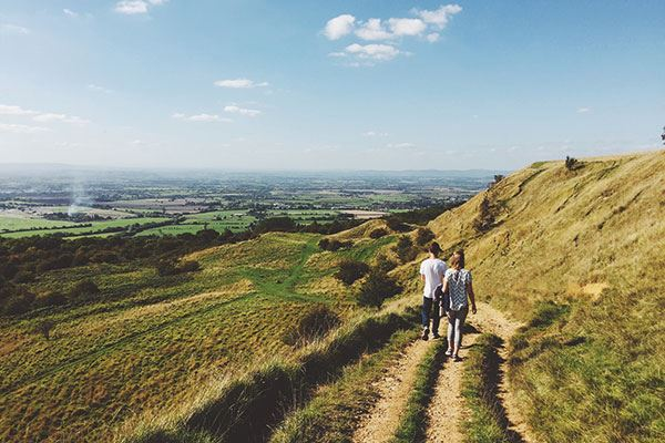 Get your walking boots on and explore the county by foot