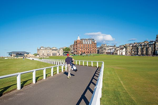 You can't come all of the way here without a trip to the Old Course in St Andrews