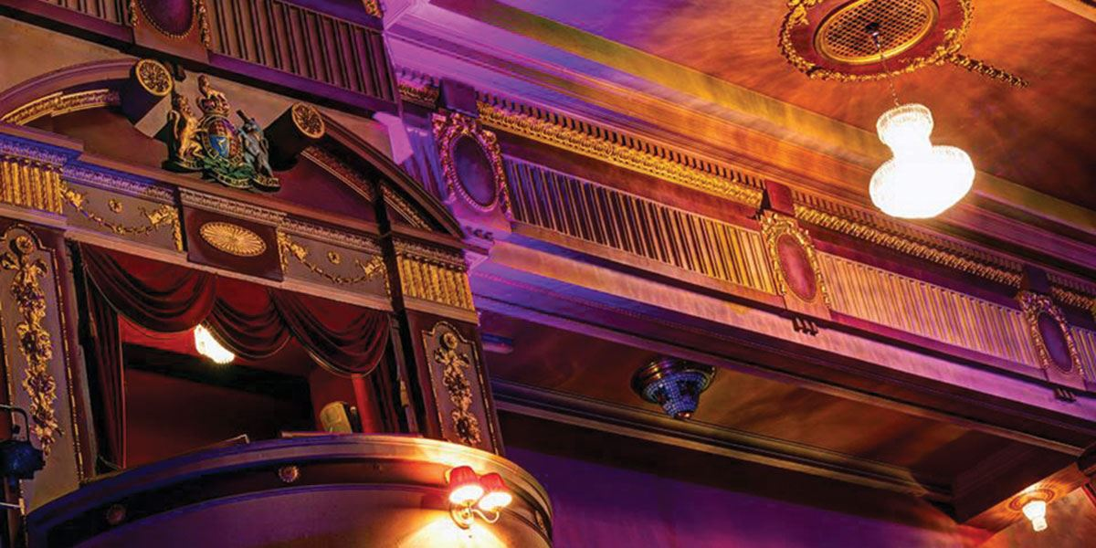 Catch a show at one of Fife's theatres like the Alhambra Theatre
