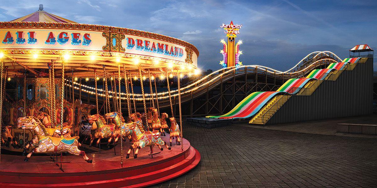 Discover vintage rides at Dreamland Margate