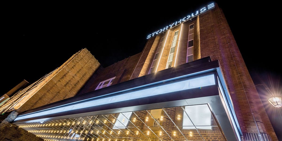 Watch a show at the multi-award winning Storyhouse
