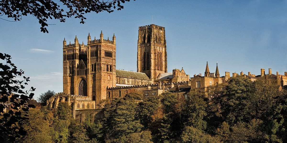 Take in the architectural delight that is Durham Cathedral