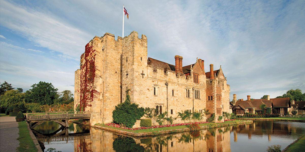 Visit Hever Castle & Gardens, the childhood home of Anne Boleyn