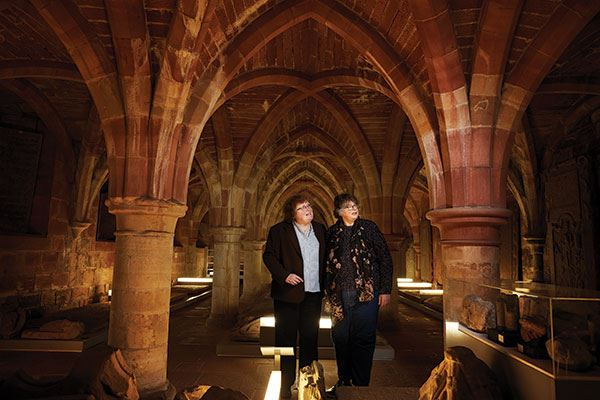 Explore the remains of Scotland's largest and most magnificent medieval church, St Andrews Cathedral
