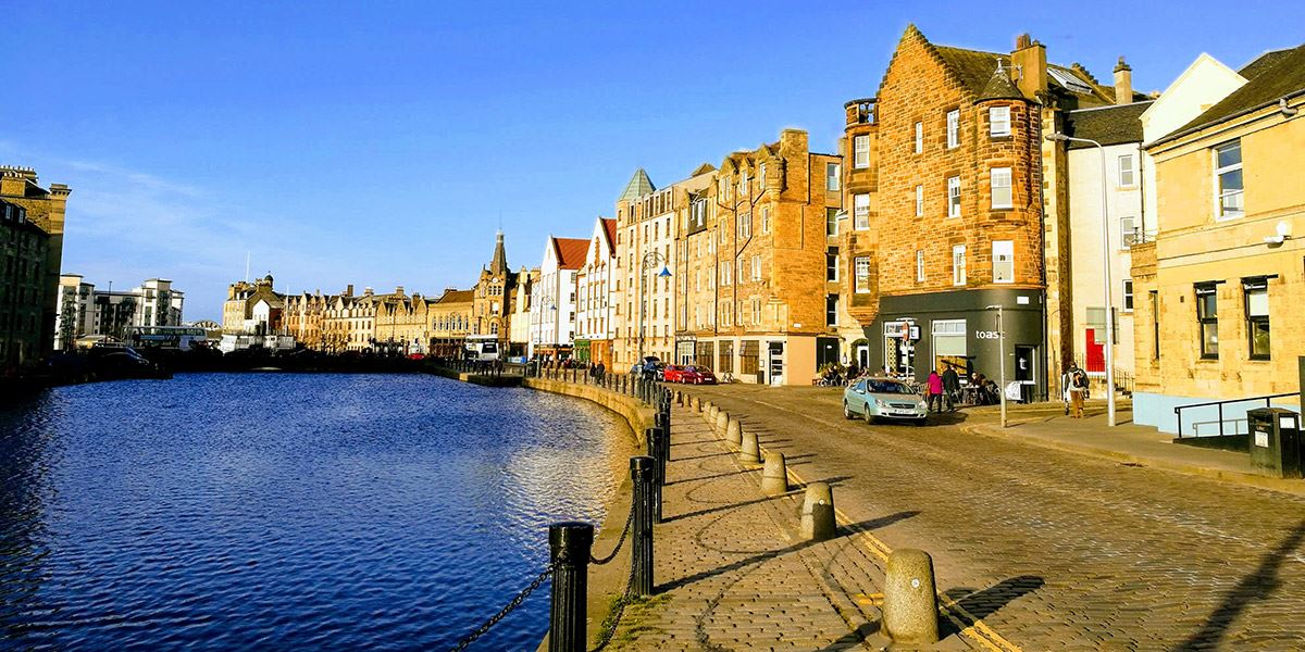 Leith rests on the shores of the Firth of Forth, at the mouth of the Water of Leith