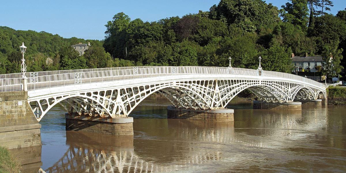 Old Wye Bridge at Chepstow