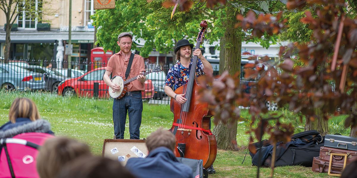 Time your visit right and you could catch one of Gloucestershire's many festivals