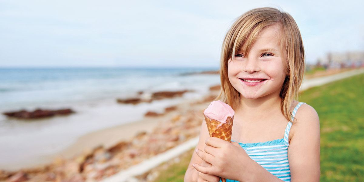 Take the family for an ice cream, you won't be disappointed