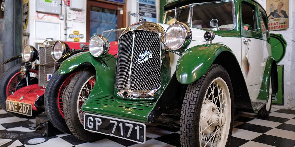 Explore the history of 20th-century motoring at Cotsworld Motoring Museum