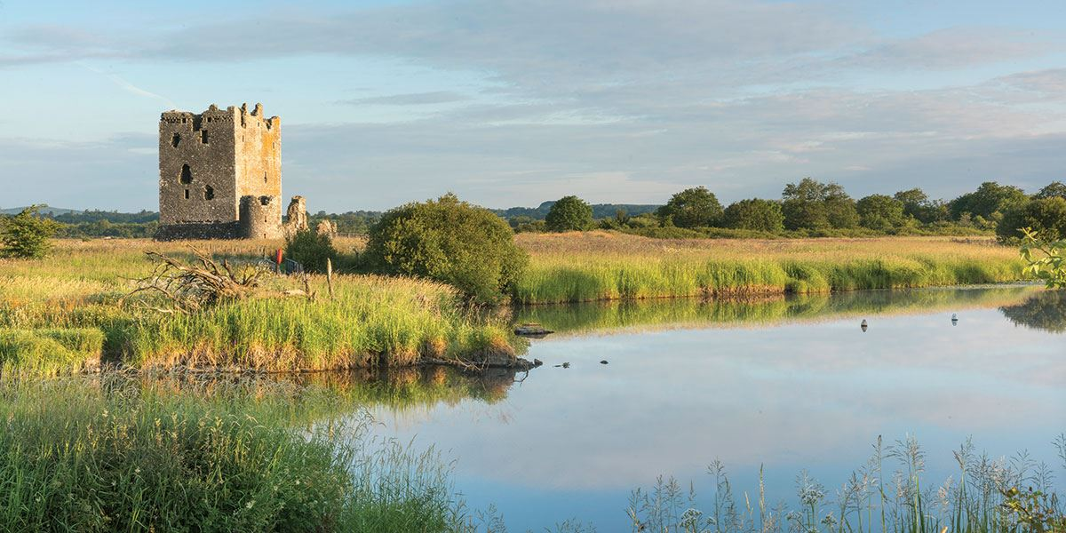 Threave Castle was built by Archibald the Grim in the late 14th century and is still standing enormously tall