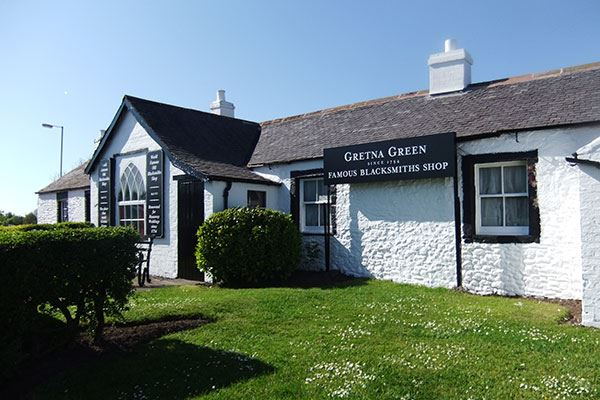 Visit the Famous Blacksmiths Shop and surrounding attractions at Gretna Green