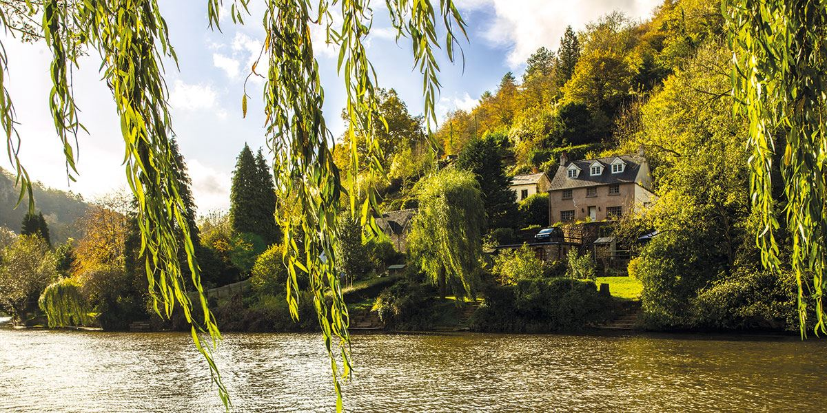 Hire a canoe and go for a boat ride along the River Wye