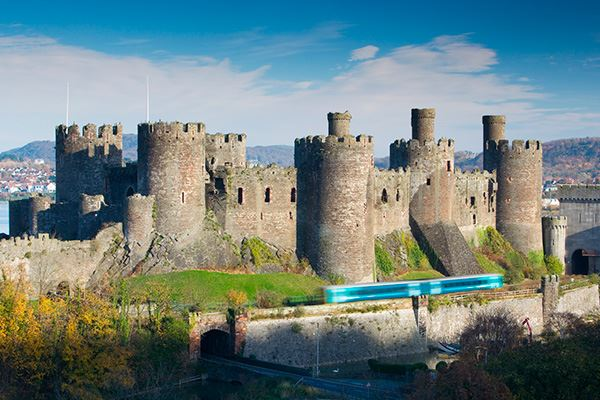 Conwy Castle was founded in the 13th century