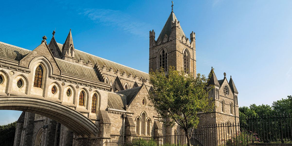 Visit the historic Christ Church Cathedral
