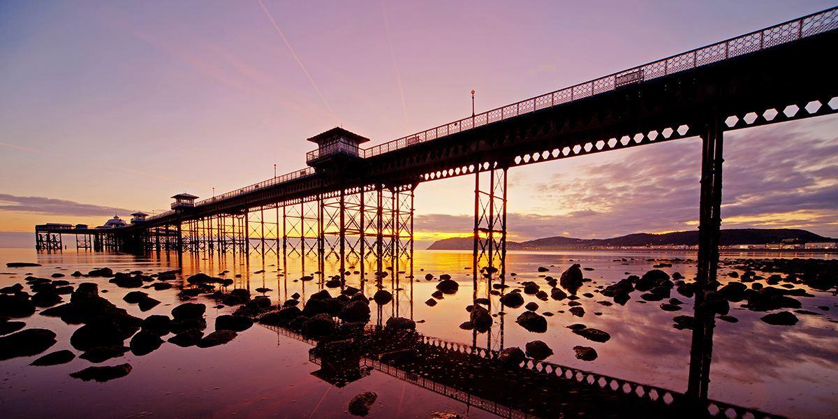 Llandudno Pier is a Grade 2-listed pier