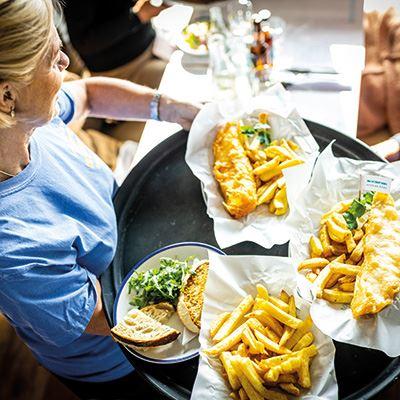 Enjoy award-winning fish and chips at Rockfish, Dartmouth