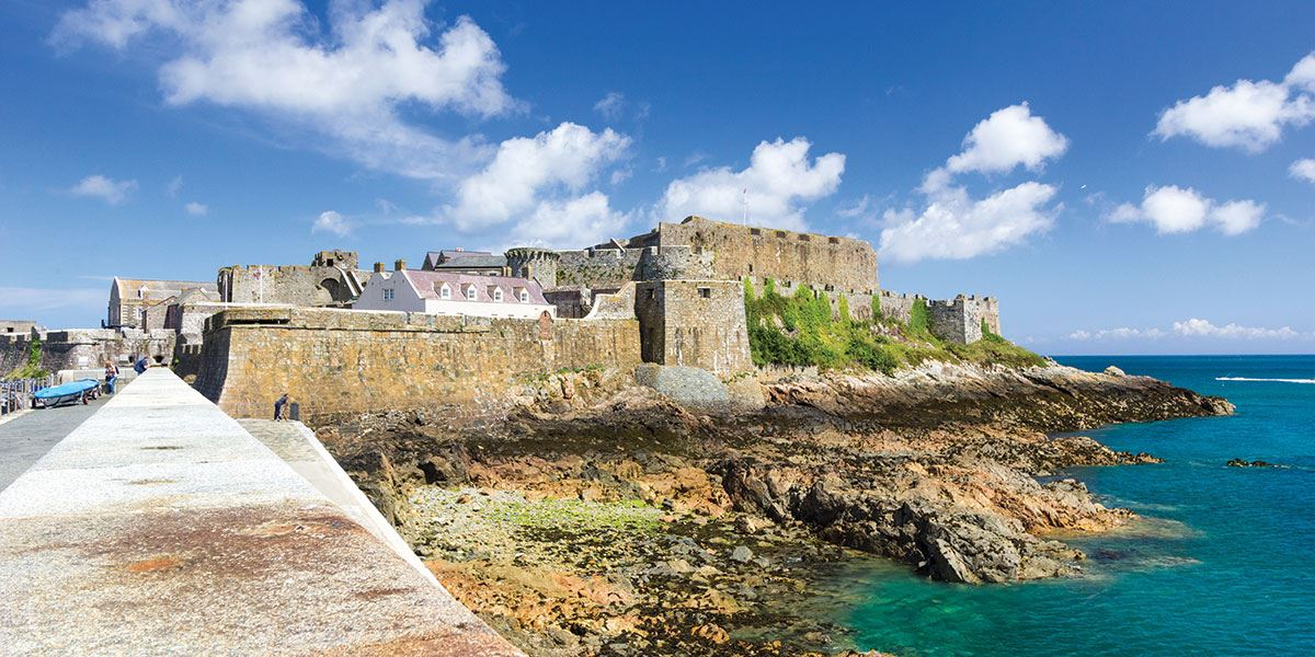 Explore five museums and four period gardens at Castle Cornet