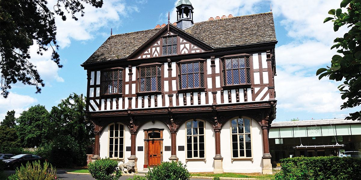 This county is punctuated with black and white villages such as Leominster, where you can marvel at Grange Court, built in 1633
