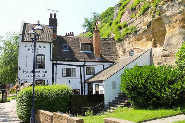 Ye Olde Trip to Jerusalem is the oldest inn in England