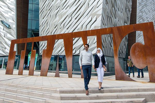 Learn about the history of the Titanic at Titanic Belfast