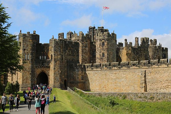 Harry Potter fans will find Alnwick Castle familiar