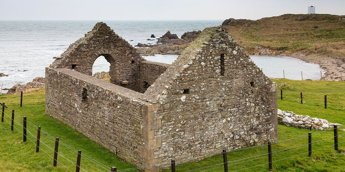 Saint Ninian's Chapel on the Isle of Whithorn