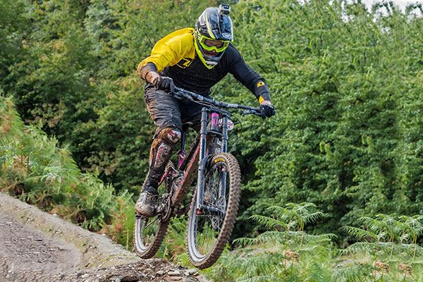 Dumfries and Galloway is an excellent place to challenge yourself with downhill mountain bike ride