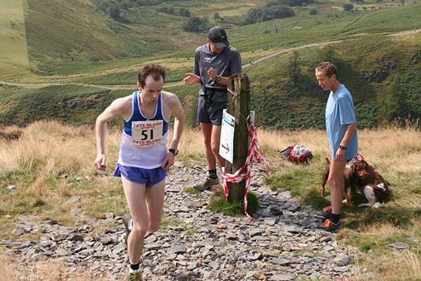 Fell running is popular in Keswick