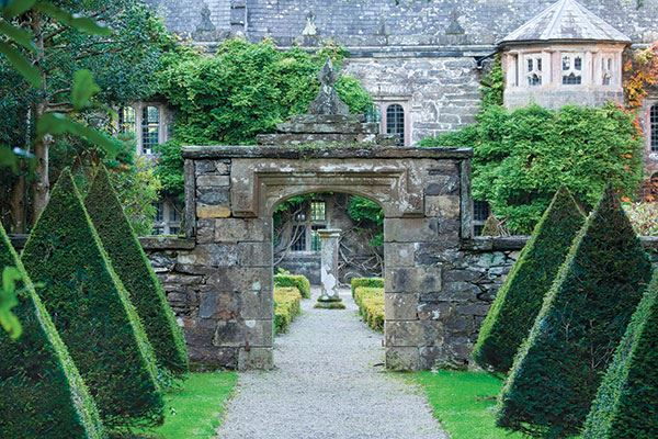 Gwydir Castle is an ancient Welsh house situated in the beautiful Conwy Valley