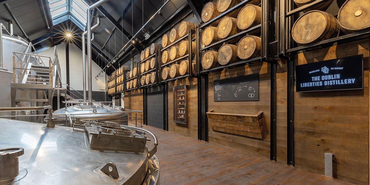 Enjoy an immersive visitor experience at The Dublin Liberties Distillery